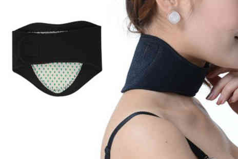 YelloGoods - Magnetic tourmaline neck support brace - Save 0%