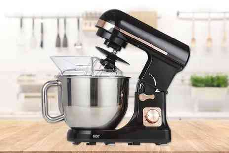 Smart Retail Goods - Tower T12033RG stand mixer in black and rose gold - Save 0%