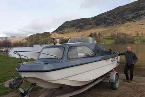 Neil Riding - Fishing Windermere by Boat with experienced Angler - Save 0%