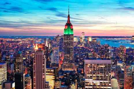 Jetline Holidays - 3 To 5 Nights Stay at Choice of Manhattan Hotels with Breakfasts and Flights - Save 0%