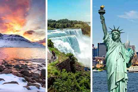 Travel Center - Six nights Reykjavik, Niagara Falls and New York holiday with flights and inter city transfers - Save 21%