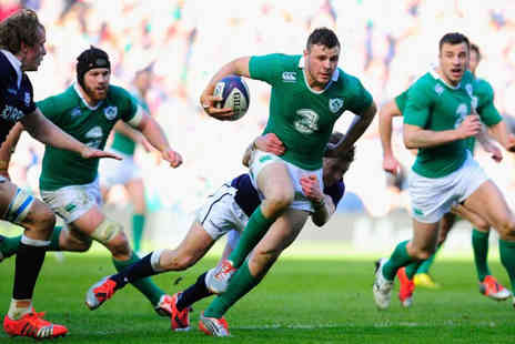 Just Book Sports - Overnight Rome stay and ticket to see the Six Nations 2020 - Save 0%