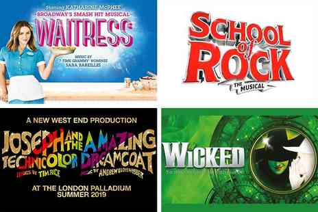 Just Book Sports - Four Star Overnights London stay and top London theatre show - Save 0%