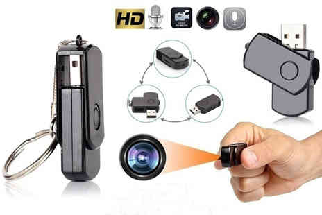 Suzhou Dashijie Electronics Co - 2 in 1 Usb and mini HD spy camera - Save 73%