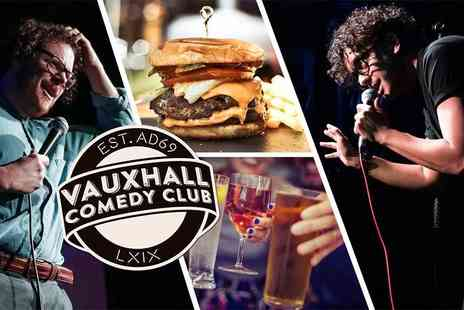 Vauxhall Comedy Club - Comedy club entry with a pint of beer or glass of wine for two people - Save 0%