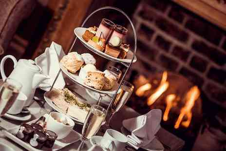 Horton Grange Hotel - Afternoon tea for two peopl glass of Prosecco - Save 37%