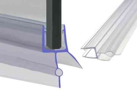 Groupon Goods Global GmbH - One, Two or Four Bath Shower Screen Door Seals - Save 75%