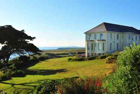 Polurrian Bay Hotel - Scenic Cornwall spa day with treatment and afternoon tea - Save 0%