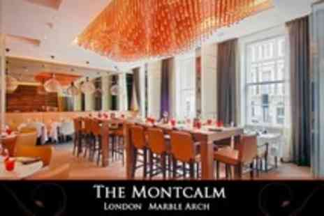 The Montcalm - Rib of Angus Beef With Triple Cooked Chips Plus Prosecco and Dessert For Two - Save 58%