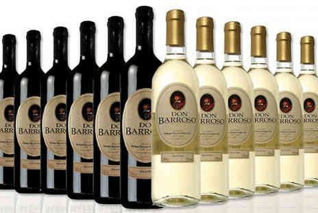 MGB Lifestyles - Selection of 12 Bottles of Tierra de Castilla Spanish Wine Choose from Three Options - Save 69%
