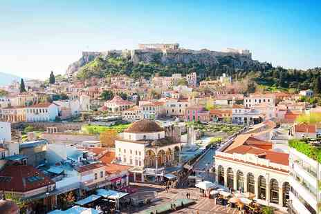 Travel Center - Two nights Athens break with flights and breakfast - Save 45%