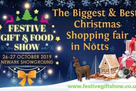 Aztec Events - Newark Festive Gift and Food Show from 26th To 27th October - Save 50%