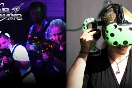 Ultimate Recreation London - Laser Tag and VR Gaming Blast Off for Action and Adventure this Summer - Save 50%