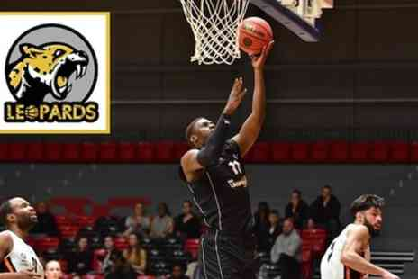 Essex Leopards Basketball - One or two general admission adult ticket or one child ticket with a pre game coaching session from 1st September or 27th October - Save 38%