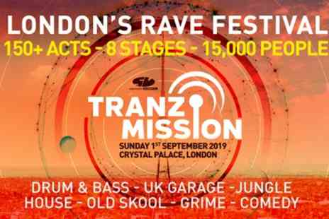 Tranzmission Festival 2019 - One general admission ticket from 1st September - Save 31%