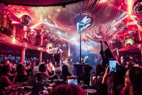 Maxwells - Friday cabaret experience including two course meal, cocktail and club entry - Save 48%