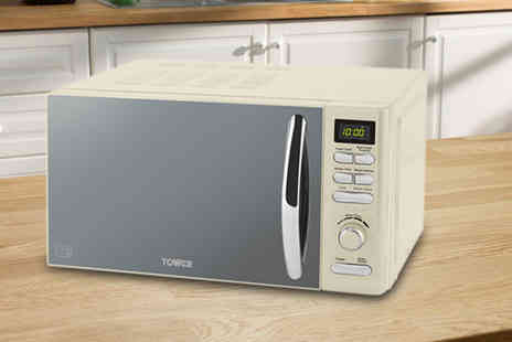 Smart Retail Goods - 800W digital microwave choose from three colours - Save 0%