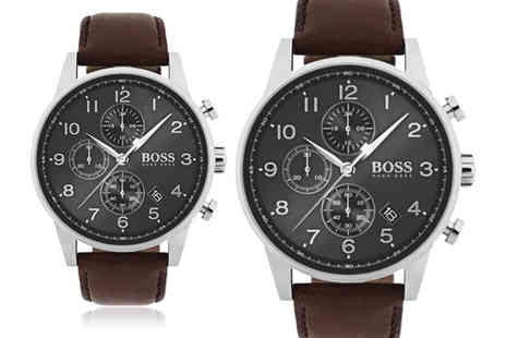 Best Watch Company - Mens Hugo Boss Navigator watch - Save 60%