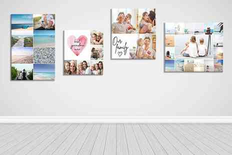 Discount Photo Prints - Personalised image canvas - Save 93%