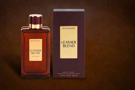 Wowcher Direct - 100ml bottle of Davidoff Leather Blend eau de parfum - Save 62%