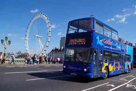 Golden Tours - Panoramic, three hour tour of London on an open top bus - Save 41%