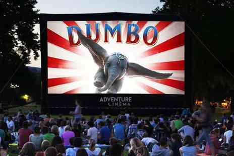 Adventure Cinema - An outdoor cinema experience choose from Dumbo or Bohemian Rhapsody - Save 44%