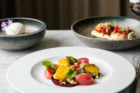 St Pancras Brasserie and Champagne Bar - Meal for Two with bubbly - Save 19%