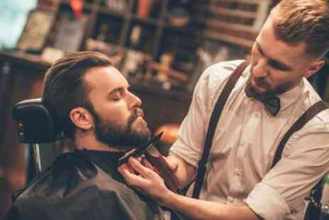 Unit 5 Barbers - Mens Wash, Cut and Style with Optional Beard Trim and Shave - Save 40%