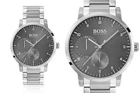 The Best Watch Shop - Mens Hugo Boss HB1513596 oxygen stainless steel watch - Save 60%