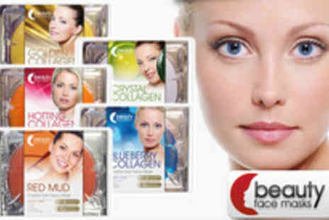 Beauty Face Masks - Do you need some me time Well why not pamper yourself with a set of 5 beauty facemasks - Save 70%