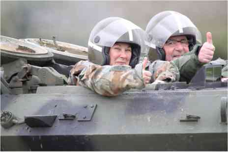 Virgin Experience Days - Tank Driving Taster for Two - Save 0%