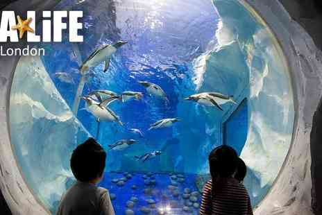 Encore Tickets - Sea Life London Aquarium - Save 0%