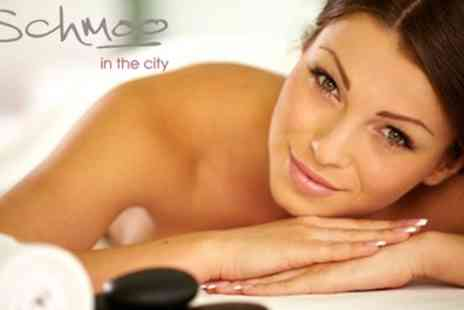 Schmoo in the city Hilton Cardiff Metropole - Three Treatment Pamper Package - Save 57%