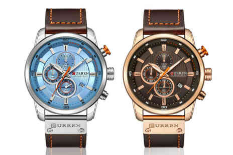 SecretStorz - Waterproof military chronograph watch choose from six colours - Save 57%