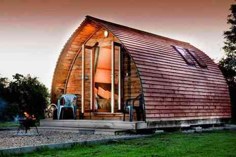 Wigwam Holidays Crowtree - Two nights heated wigwam stay with Prosecco for up to four people and two dogs - Save 55%