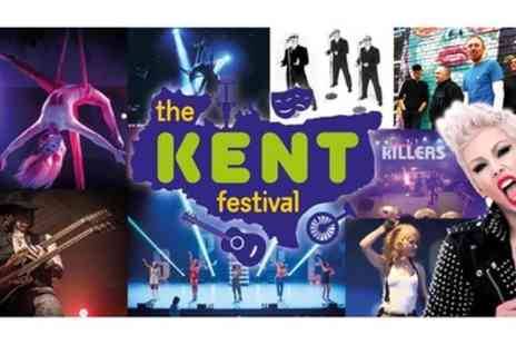Kent Festival - Early Bird Tickets to The Kent Festival from 15th To 17th November - Save 63%