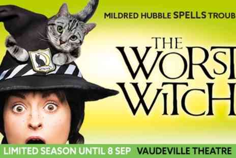 Vaudeville Theatre - Tickets to see The Worst Witch - Save 0%