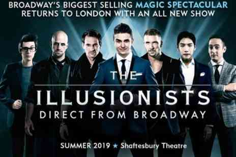 Shaftesbury Theatre - 35% Off tickets to see The Illusionists - Save 35%