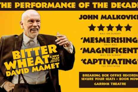 Garrick Theatre - Tickets to see Bitter Wheat - Save 0%