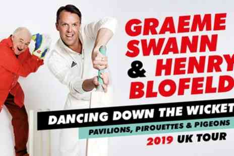 Lyric Theatre - Tickets to see Graeme Swann and Henry Blofeld Dancing Down The Wicket - Save 0%