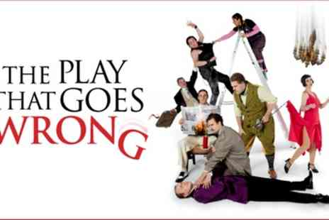 Duchess Theatre - Tickets to see The Play That Goes Wrong - Save 0%