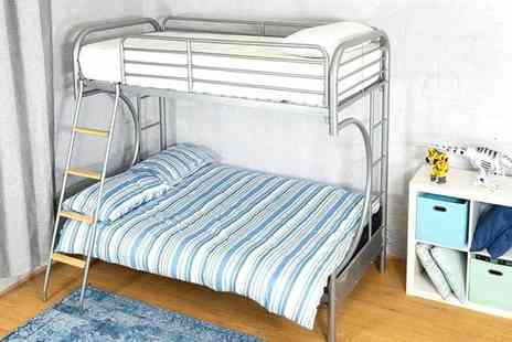 Selsie - Metal futon bunk bed frame - Save 0%