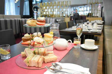 Crowne Plaza Manchester - Afternoon tea for two people with a gin and tonic each - Save 0%
