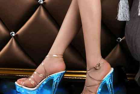 Suzhou Dashijie Electronics Co - Led platform ankle strap heels Choose from 3 colours - Save 70%