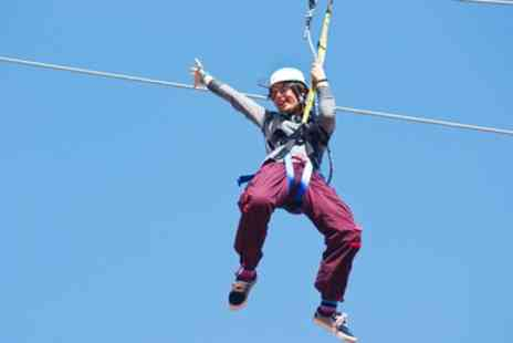Suffolk Leisure Park - One Hour High Ropes Course for One, Two or Four - Save 33%