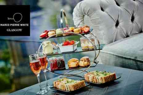 Marco Pierre White Steakhouse Bar & Grill - Afternoon Tea with Optional Prosecco for Two - Save 50%