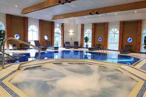 Hogs Back Hotel & Spa - Prosecco Afternoon Tea, Spa Pass and Treatment for One or Two - Save 44%