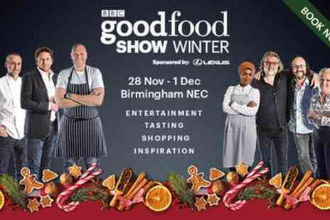 BBC Good Food Show Winter - Four afternoon general admission tickets from 28th November To 1st December - Save 0%