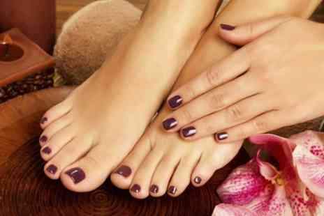 Arabellaz - Gel Manicure, Pedicure or Both - Save 73%
