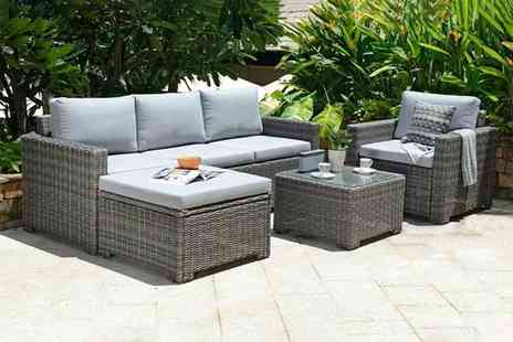 Out and Out - Marbella 5 seater corner lounge set - Save 30%